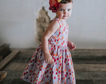 Birthday dress for toddlers - little girls birthday dress - first birthday dress - first birthday outfit - toddler girls birthday dress