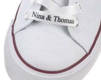 Personalised shoelaces