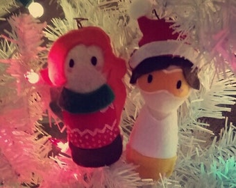 Tracer & Emily ornaments / Charms