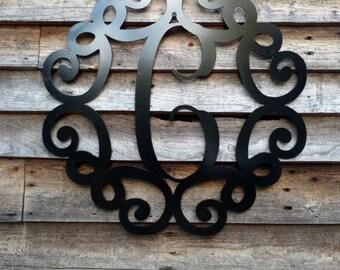 Metal door/wall hanger