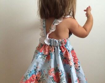 ADOPTION FUNDRAISER PATTERN // Strappy Circle Skirt Dress Pattern // sizes 12 months - 4T