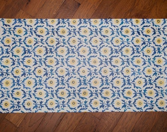 Floral Floor Cloth