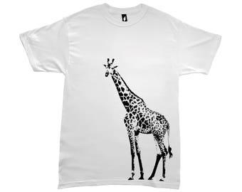 Giraffe Love 2 Tee Vneck Racerback
