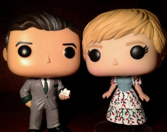 The Sound of Music Fraulein Maria & Capt. Von Trapp Funko POP Vinyl Customized Set