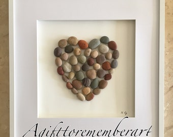 The pebble heart