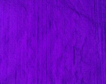 Blue Dupioni Silk Fabric