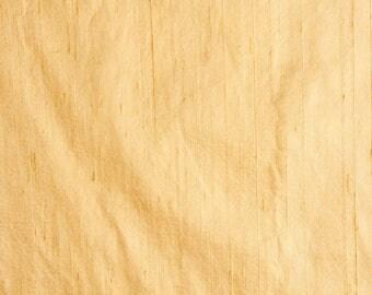 Ivory Dupion Pure Raw Silk