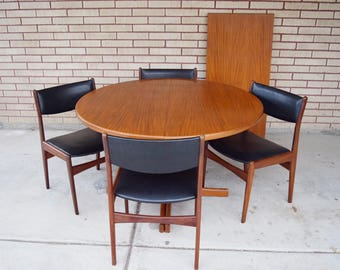 Danish Modern Dining Chairs by Poul Volther for Frem Rojle.