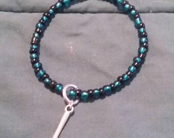Night in the Woods Bea Hammer Charm Beaded Bracelet