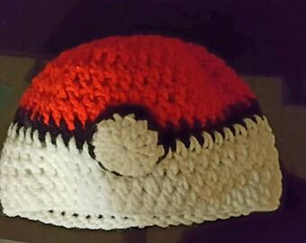 Pokemon Hat *Pokeball Style*