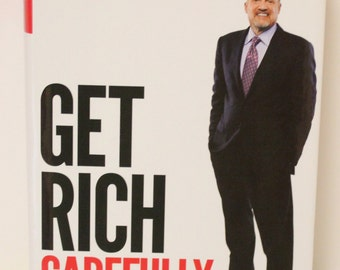 Jim Cramer's Get Rich Carefully Book Signed Auytograph
