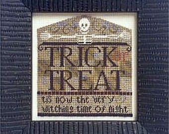 Dem Bones by Erica Michaels w/40 Count Gauze Included Counted Cross Stitch Pattern/Chart