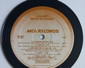 Vinyl Record Magnet - Elton John's Greatest Hits Volume II