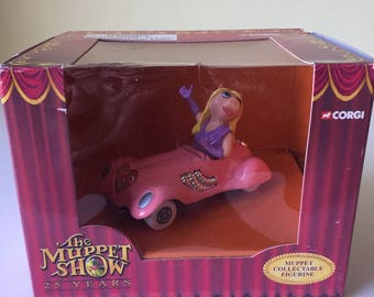 The Muppet Show Anniversary Miss Piggy Corgi collectible car new in box Jim Henson