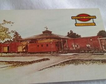Vintage Postcard Victoria Station Restaurants Various locations USA 1970s