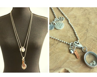 Two piece necklace with Locket!
