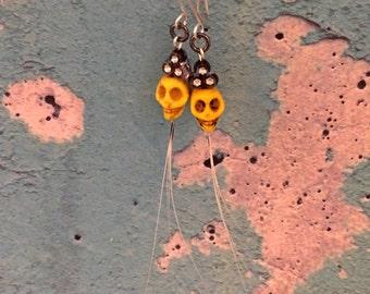 Cat whisker earrings