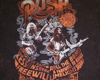 Rush rock n roll hall of fame tshirt