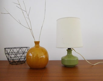 Lamp ceramic vintage year 50