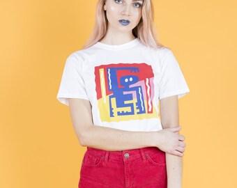 Jive Man Square Design T-shirt
