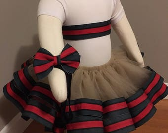 Green/Black/Red Tutu outfit