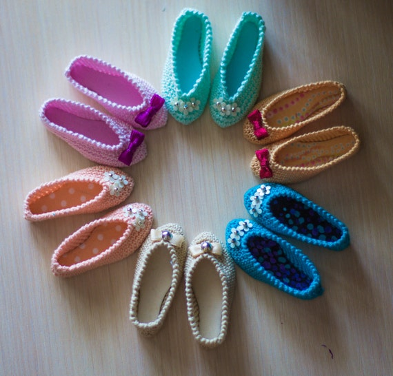 Ballet shoes (knit) for minifee active-line