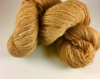 Naturally dyed with walnut