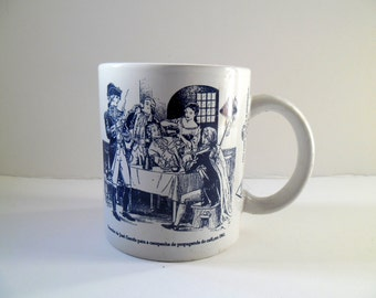 Antique Mug in crockery.
