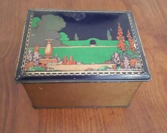 Vintage 1920s Tin
