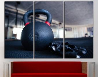 Gym Motivation canvas Workout motivation print Crossfit motivation Gym decor Gym wall decor Gym wall art Gym art home print canvas decor