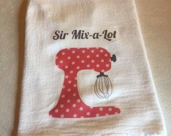 Sir Mix a Lot flour sack towel