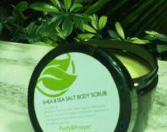 Shea & Sea Salt Body Scrub
