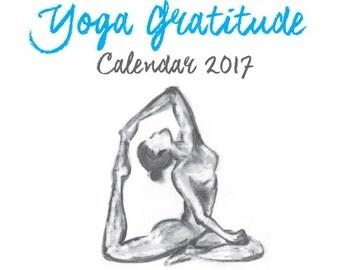 2017 Yoga Gratitude Calendar
