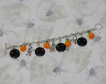 Every Day Is Halloween Charm Bracelet