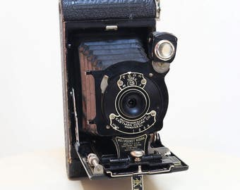 Vintage Fold Out Kodak Pocket Camera Camera Antique Eastman Kodak 1920s