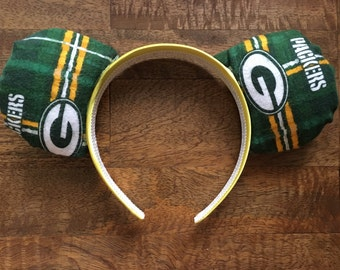 Green Bay Packers NFL Mouse Ears Headband