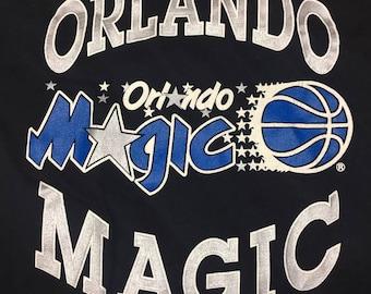 NWT Vintage Orlando Magic 90's Black T-Shirt XL