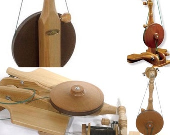 On Sale...Majacraft Little Gem Spinning Wheel with FREE Shipping and FREE Roving...was 1,100 USD