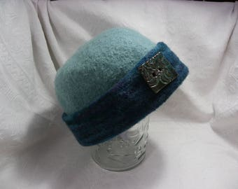 Felted Hat and Mitten set