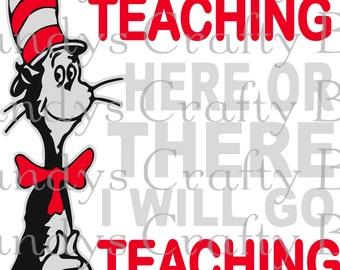 SVG Dr Seuss Teaching