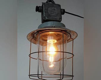 hanging ,vintage,metal light, old lamps,vintage light