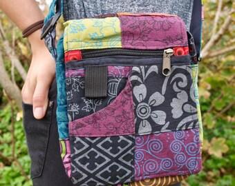 Handmade Patchwork Passport Bag