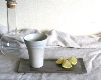 Ceramic Cup, Beer mug 200ml - White