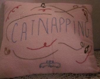 Cat Nap Pillow