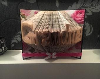 Grandma - Folded Book Art