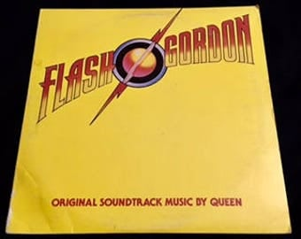 Vintage Vinyl: Flash Gordon (Soundtrack by Queen)