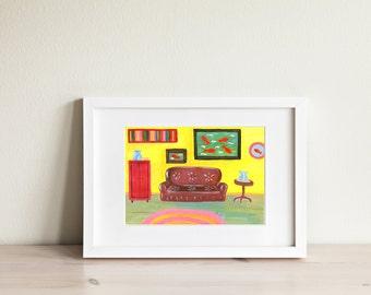 Art Print Interior