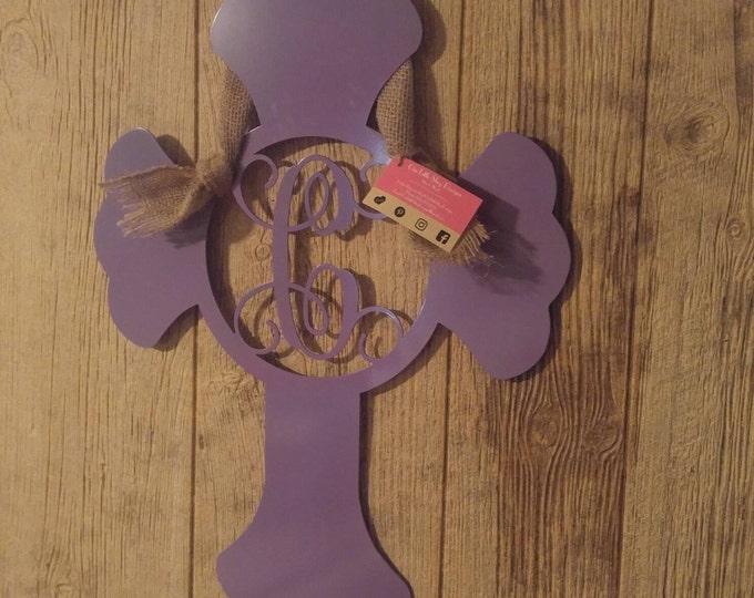 Cross Door Hanger, Cross Wall Decor, Nursery Cross, Gift for Newborn, Baby Shower Guest Book, Baby Door Decor, Home Decor, shower gift idea