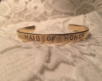 Maid of Honor Cuff