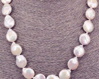 Pearl Necklace Baroque necklace PKE101